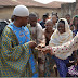 Villagers Mob Oluwo Of Iwo As He Storms Community To Share Money (Photos)