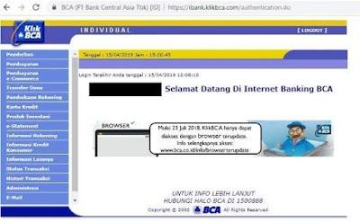 Cara Daftar Internet Banking BCA Melalui ATM-4