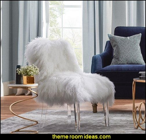 Sheepskin Side Chair