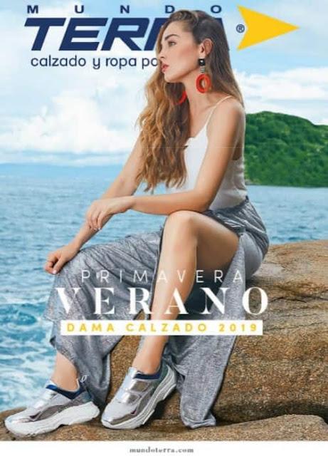 Catalogo mundo Terra calzado damas Primavera Verano 2019