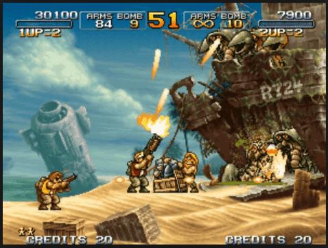 تحميل لعبة حرب الخليج METAL SLUG للكمبيوتر 2019