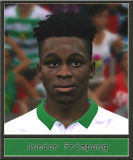 PES 2017 Faces Junior Frimpong by Dewatupai