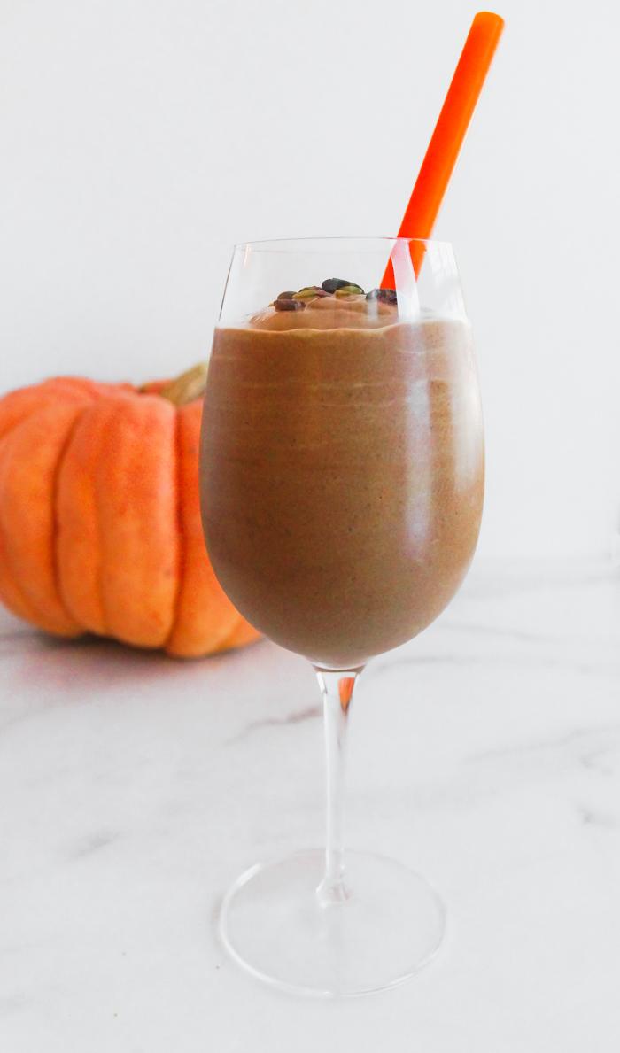 Double Cocoa Pumpkin Smoothie Recipe