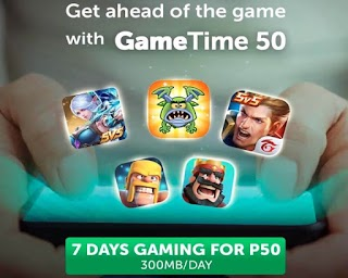 Smart GAME50 – GameTime 50 with 7 days Online Gaming for 50 Pesos
