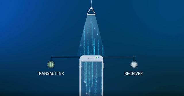 Li-Fi technology transfers data in an electromagnetic manner
