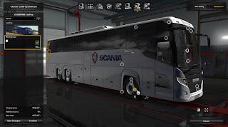 Aksesoris Scania Touring