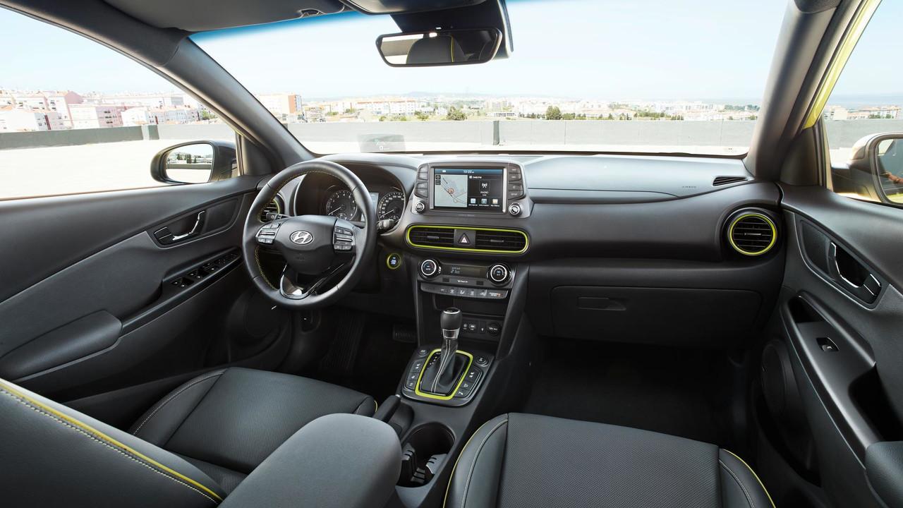 Nội Thất Hyundai Kona đời mới