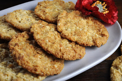 anzac day biscuits celebration