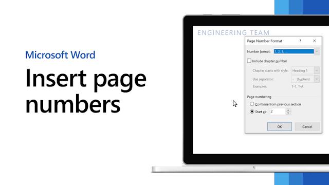 Cara Menambahkan Nomor Halaman pada Dokumen Word