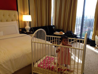 baby cot hotel