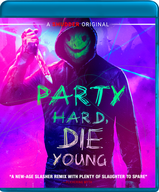 Party hard, Die Young Blu Ray Image