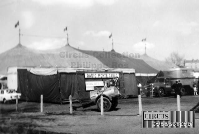 vue du cirque et du studio de la radio