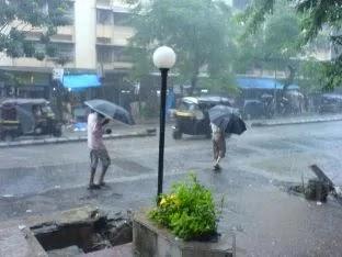 NewsSect, Rain, Rainfall in Mumbai, Weather forecats