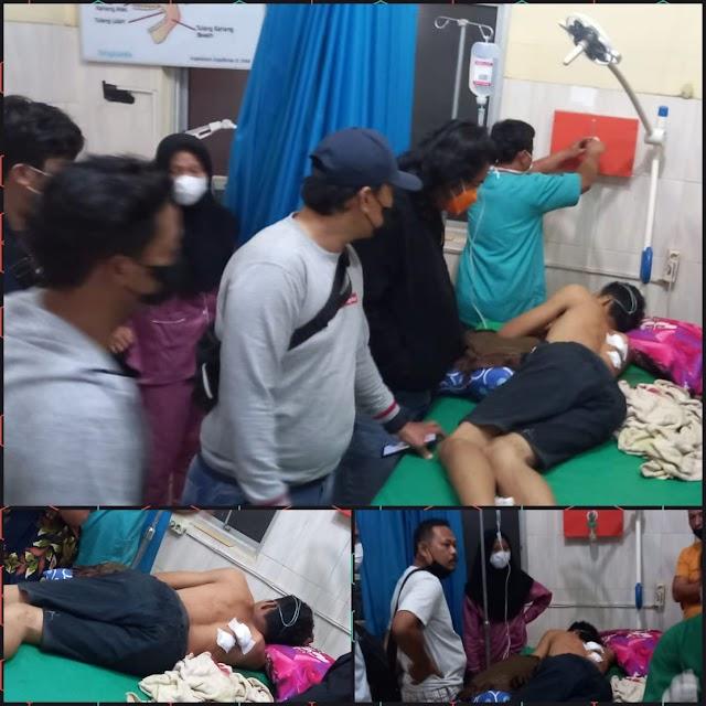 Karyawan JNT Dirampok, Korban Kritis Dengan Luka Tembak Dua Lubang Bersarang Dipunggungnya