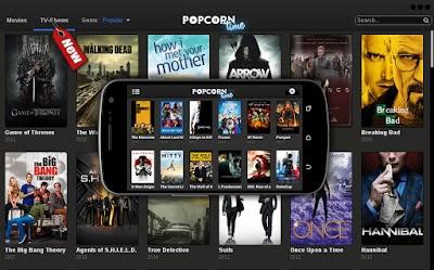 تطبيق Popcorn Time لبث الأفلام الحديثة يطرح تطبيقه على الأندرويد