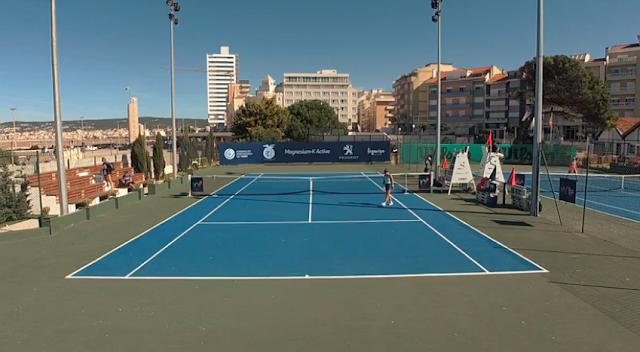 Quadra de tênis em Portugal Bia Haddad