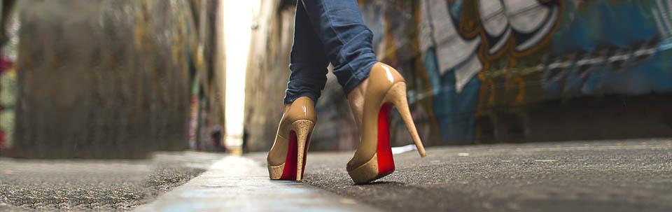 Sol Merah High Heels