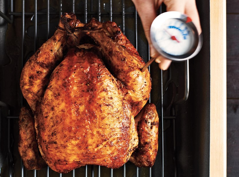 The Correct Chicken Temperature for Juicy White and Dark Meat