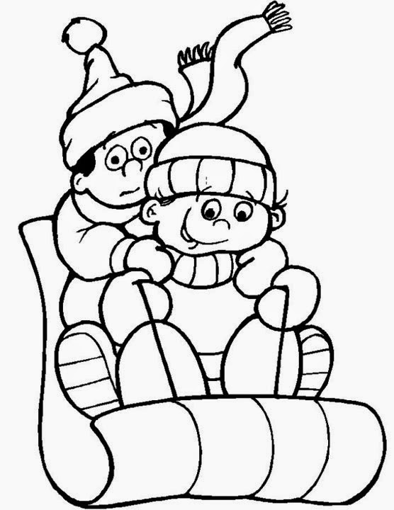 Coloring Pages: Winter Coloring Pages and Clip Art Free ...