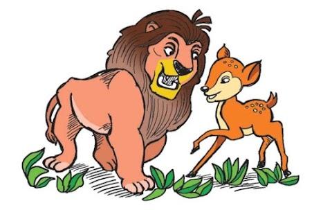 Singa Licik dan Kancil Cerdik