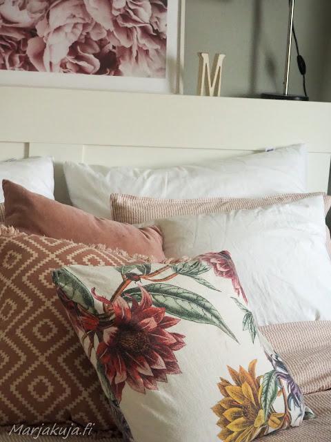 makuuhuone sisustus koti