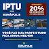 Eunápolis - 2019 não terá REFIS: Contribuinte deve aproveitar desconto de 20% e pagar IPTU até 30/06