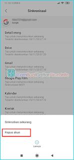 cara ganti akun Play Store Xiaomi