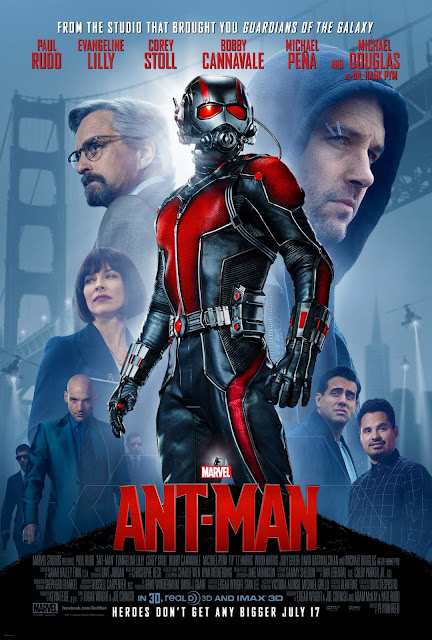 Ant-Man, Movie Poster, Director by Peyton Reed