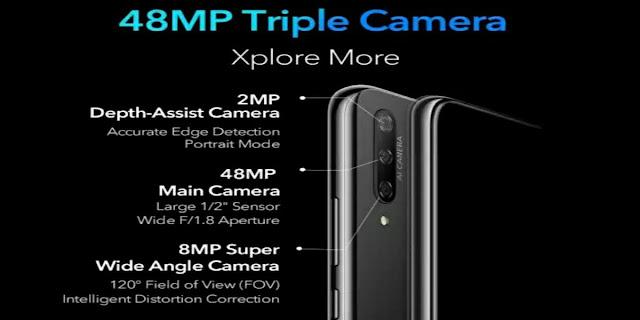 Honor 9x Camera , Honor 9x back Camera