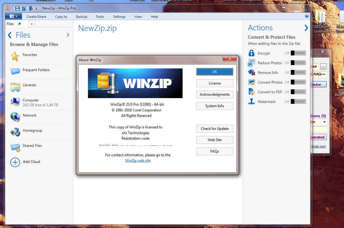 Winzip 21.5 serial key generator engine