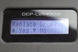 Baru Cara Reset Printer Brother DCP-L2540DW Setelah Isi Ulang