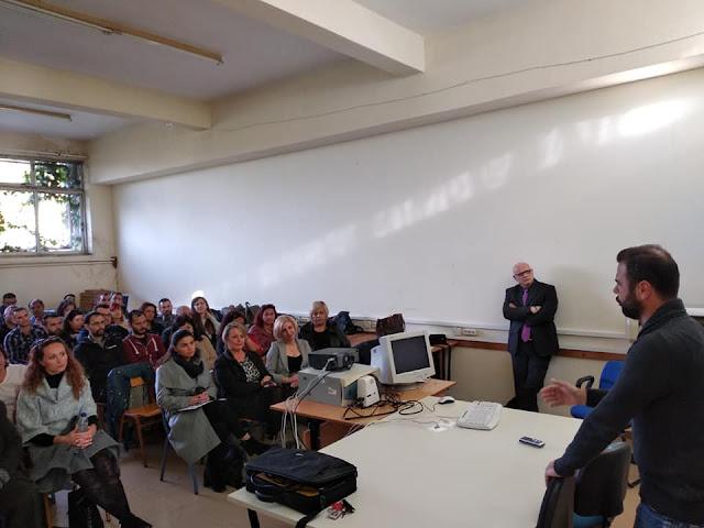 Σπουδαστές του ΔΙΕΚ Άργους παρακολούθησαν σεμινάριο για θέματα ιατροδικαστικής