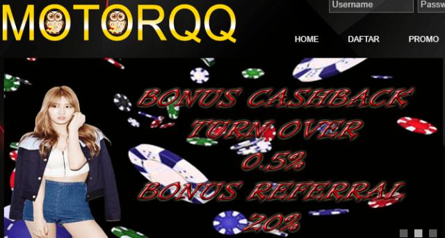 Rekomendasi Website Bandar Domino dan Poker Terbaik di Motorqq.online
