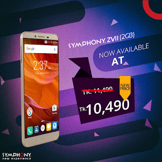 Special Cash Discount on Symphony ZVII (2GB RAM) Smartphone