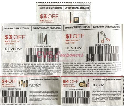 revlon coupon insert coupons