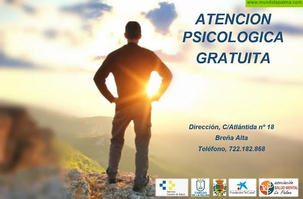 Atención psicológica de Salud Mental La Palma en colaboración con el Hospital General de La Palma