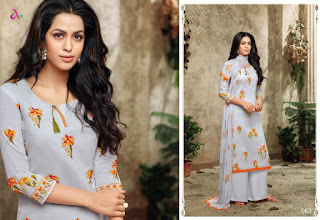 Angroop plus Dhara jam Silk Print Salwar kameez