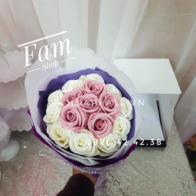 Hoa hong sap thom vinh cuu o Nam Cao