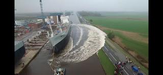 Inanılmaz gemi kazaları Lansmanları