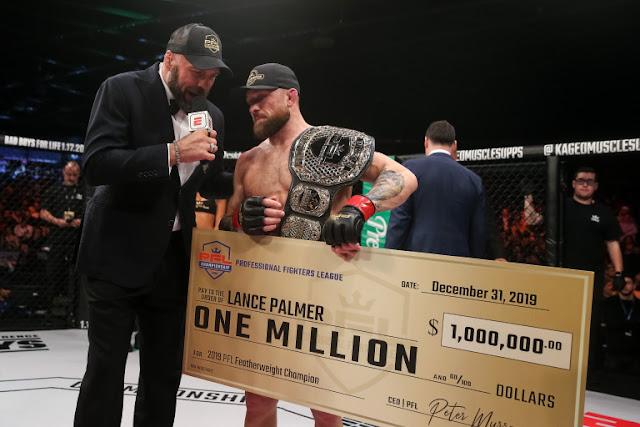 PFL 2020 season one million Dollar Winner