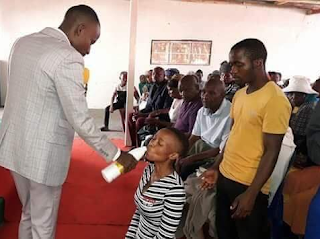 """""""They were drinking the blood of Jesus"""" – Pastor who gave members JIK bleach to drink defends his action"""