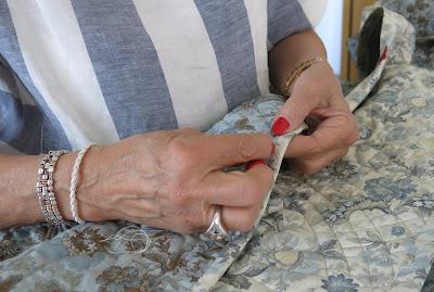 Marie-Thérèse stitching