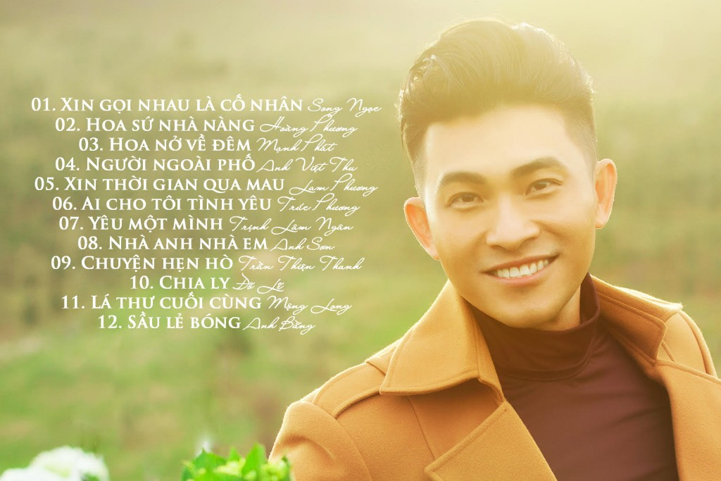 """Nguyễn Hồng Ân giới thiệu Album CD nhạc tình muôn thuở """"Ai cho tôi tình yêu"""""""