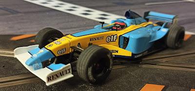 Renault R23 Hornby Superslot