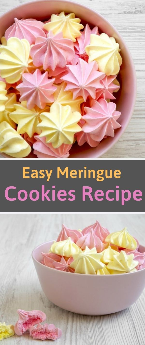 Easy Meringue Cookies Recipe #Easy #Meringue #Cookies #Recipe Cookie Recipes Chocolate Chip, Cookie Recipes Easy,