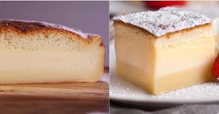 Aprende hacer el pastel mágico que esta causando furor en Internet