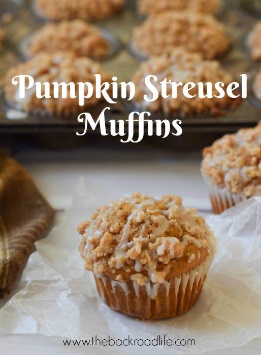 Pumpkin Streusel Muffins pin