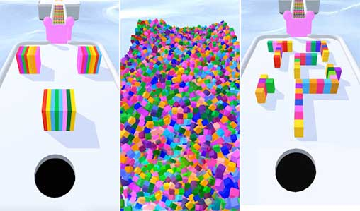 تحميل لعبة Color Hole 3D 1.1.3 Apk + Mod (Unlimited Coins) for Android
