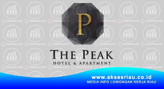 Lowongan The Peak Hotel Apartment Pekanbaru Februari 2021