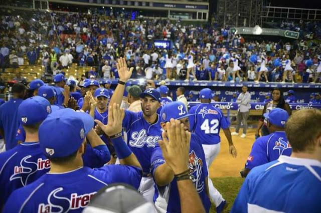 Tigres del Licey obtienen pase al round robin del béisbol dominicano